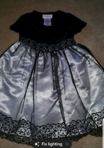 Mint condition 3t dress sparkly