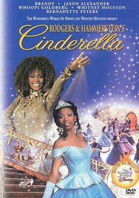 Rodgers and Hammerstein's Cinderella - DVD - Brandy & Whitney Houston Brand New!