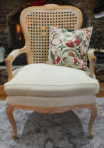 Beautiful Queen Anne Cane Back Chair Windsor Region Ontario image 2