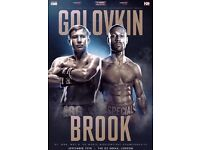 Golovkin Vs Brook Tickets - Lower Tier tickets