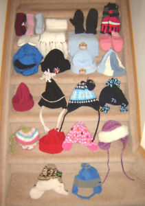 Boys and Girls Winter Hats, Gloves - some toddler, most one size