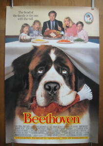 Beethoven (1992) Original Rolled Movie Poster