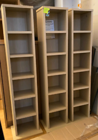 CD DVD storage shelves £7 each. Real Bargains Clearance Outlet Leicest
