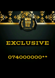VIP GOLD MOBILE NUMBERS 000000