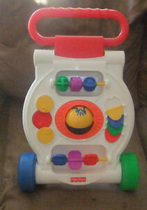 FISHER PRICE BABY DEVELOPMENT TOY # K9875 ACTIVITY WALKER PUSH T