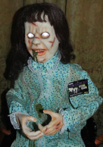 NIB Reduced Rising The EXORCIST Motion+Lights+Animated AudioProp