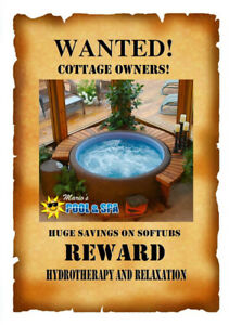 Save up to $1000 on a New Softub!