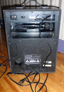 Système à double cassette pour chanter accompagné