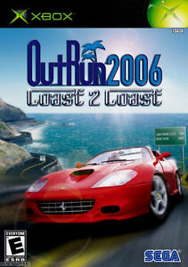 *NO MANUAL* OutRun 2006: Coast 2 Coast (Xbox)