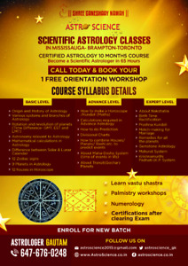 Certified Astrology Course