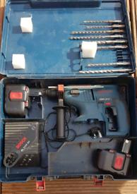 Bosch 24v sds drill & drill