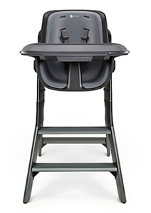 4moms High Chair in Black/Grey