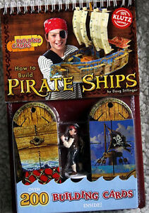 NEW - How to Build Pirate Ships - from Klutz Books Kingston Kingston Area image 1