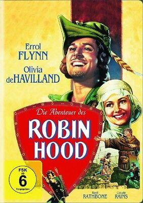 Die Abenteuer des Robin Hood DVD NEU OVP Errol Flynn