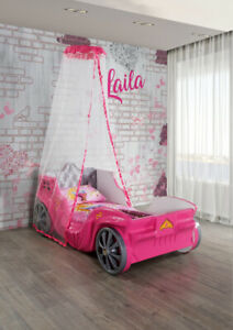 Princess Carriage Toddler car bed for girls - supercarbeds