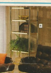 Coffee tables & matching etagere -- brass & glass Regina Regina Area image 2