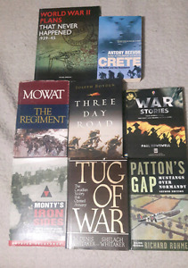 Military books for sale