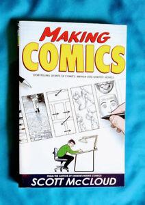 "brand new book: ""Making Comics"" by Scott McCloud"