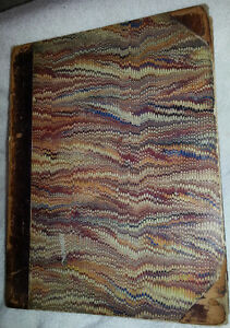 c1869 PUNCH Comic Historical Antique Scarce Book