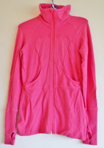 Lululemon Zip Up Sweater - Pink - Size 6