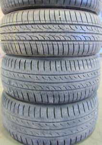 4 good used tires 16 inch=P195/50R16===60-85% Tread Remaining Ga