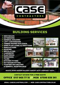 Builder plasterer carpenter roofer. All general building