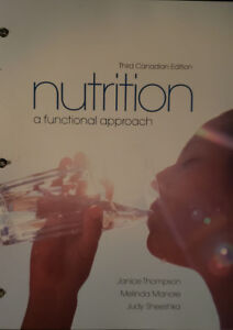 Selling Textbook Nutrition: A Functional Approach