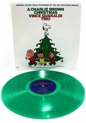 VINCE GUARALDI TRIO-A CHARLIE BROWN CHRISTMAS-FANTASY NEW SEALED GREEN VINYL LP ()