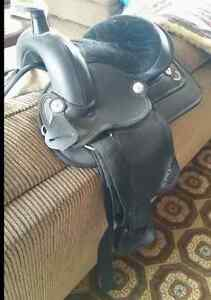 Black pony saddle- Brand New!