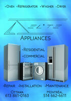 ELITE APPLIANCES REPAIR AND INSTALLATION OTTAWA AND SURROUNDINGS