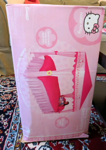 Hello kitty canopy for a single bed