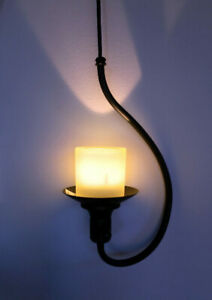 Antique Candle ceiling light - Adjustable length!