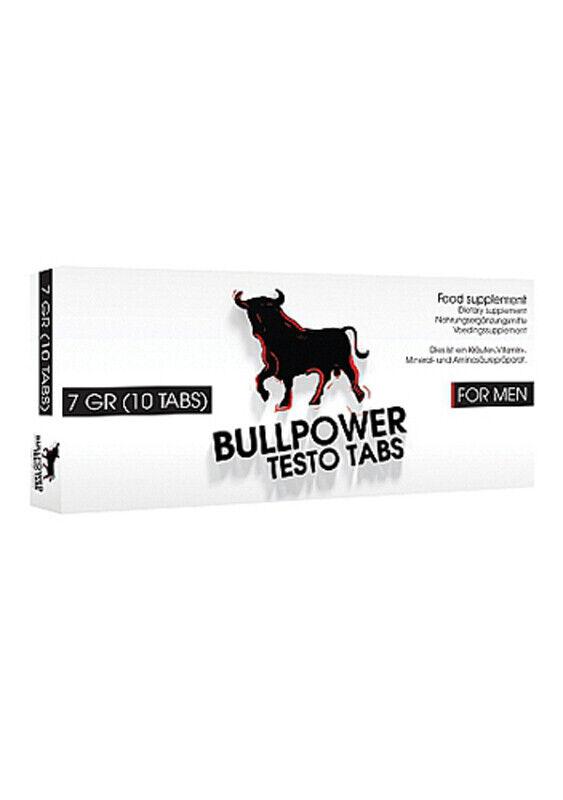 Bull Power Testo Tabs Potenzhilfe Aphrodisiaka Erektion Sexpillen Kraft für Mann