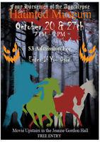 Haunted Museum Starts TONIGHT (Oct 20th)