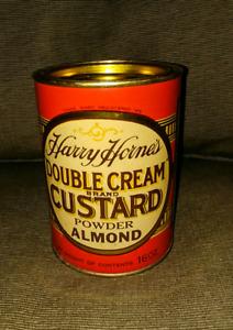Harry Horne's Double Cream Custard- Almond