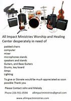 All Impact Ministries is asking for Donations