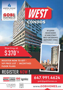 WEST Condos Platinum VIP Sale - Register for First VIP Access