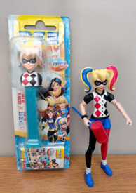 DC Super Hero Girls Harley Quinn Pez/figure