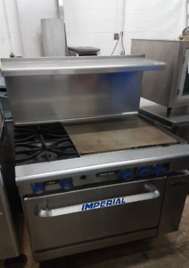 "24"" Gas Grill - 2 Burner Stove"