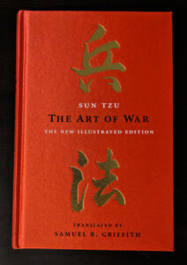 Brand New Sun Tzu The Art of War Stitched Hardcover Book