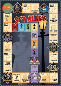 SPY ALLEY Board Game. Great Family Game. Brand New Condition