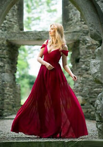 BRAND NEW OCEAN OF ELEGANCE WINE RED MAXI DRESS Kitchener / Waterloo Kitchener Area image 4