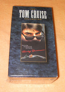 Tom Cruise (3 VHS tapes) collection (Brand new,never opened)