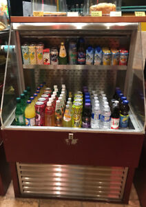 Grab and Go Refrigerator for Cafe or Restaurant