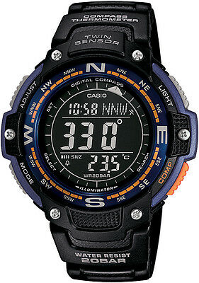Casio SGW-100-2BER Outgear Twin Sensor With Compass And Thermometer