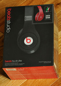Studio Wired Headphones by: Beats by Dr. Dre **new in box**