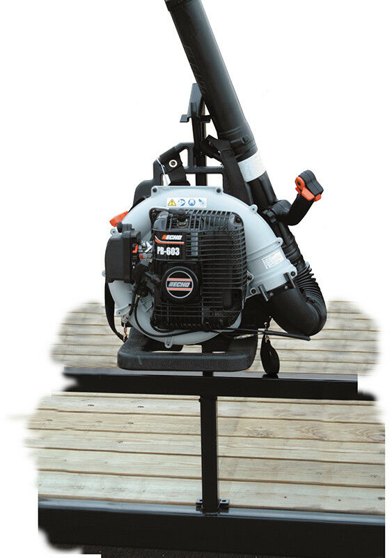 Landscape Trailer Backpack Blower Rack