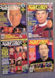 Star Trek Next Generation magazines from the 90s classic