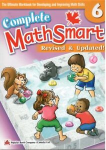 $10. Complete Math Smart For Grade 6. Brand New Condition. $10