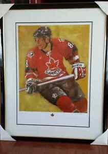 Eric Lindros Signed print